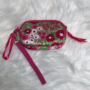Lilly Pulitzer Garden by the Sea Wristlet